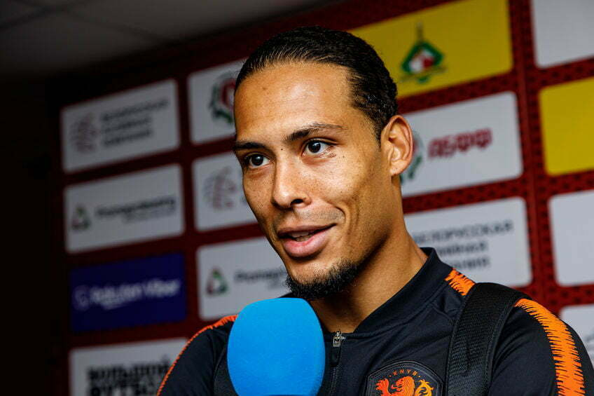 Virgil van Dijk verkozen tot voetballer van het jaar