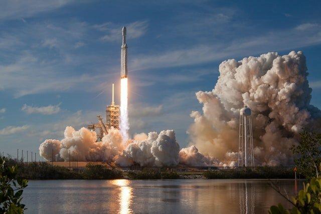 raket zichtbaar in Nederland