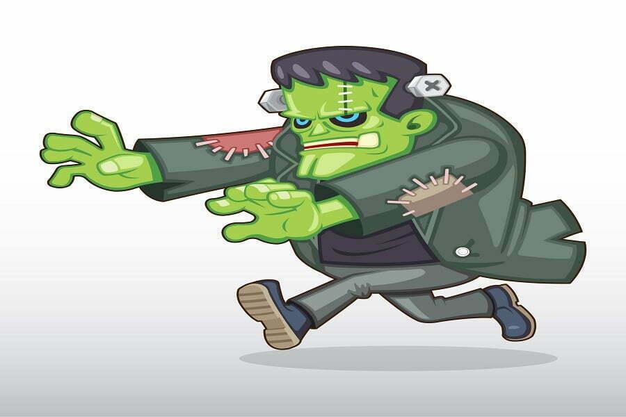 Frankenstein het monster