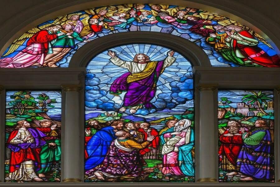 Afbeelding van Jezus in de Kerk van Engeland