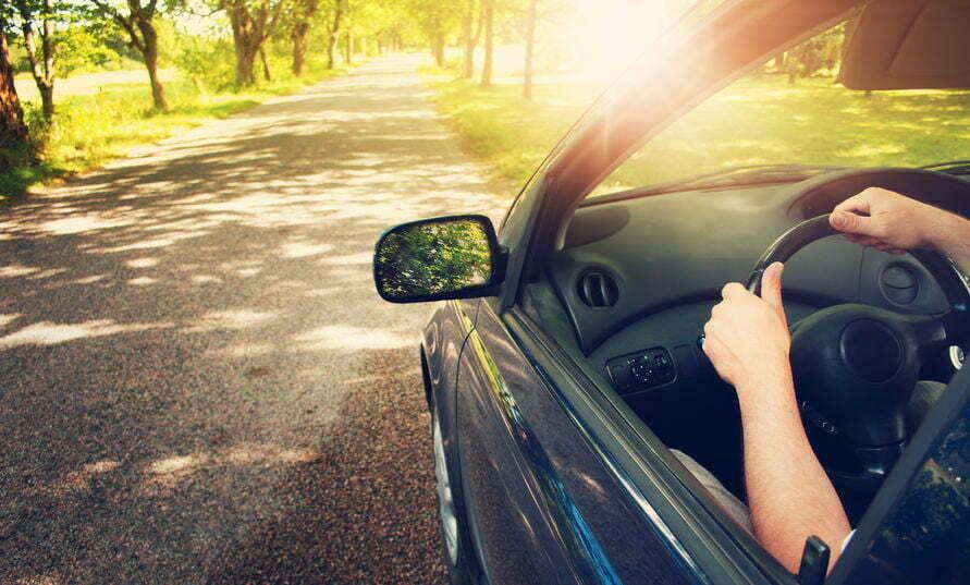 auto koel houden in de zomer