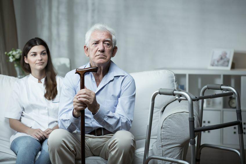 bewoners verpleeghuis minder vaak gewassen