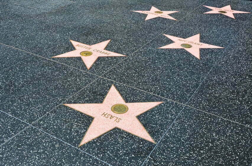 donald trump walk of fame ster