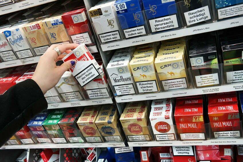 tabaksfabrikanten omkopen supermarkten