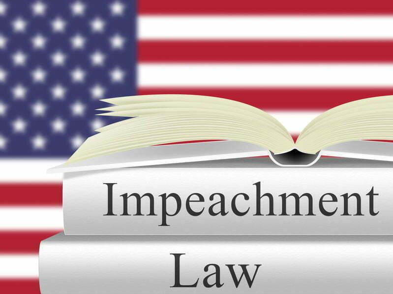 wat gebeurt er bij impeachment