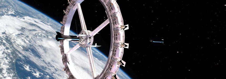 hotel in de ruimte